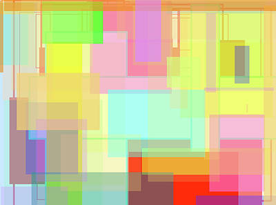 Color Symphony Art Print by Naomi Jacobs