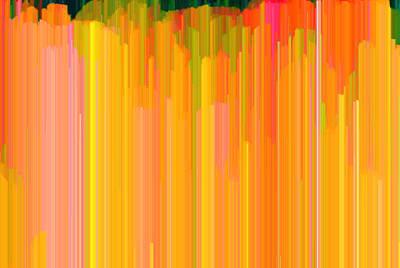 Color Tones 2  Art Print by Lyle Crump