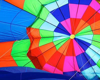 Photograph - Color Wheel by Mark Dodd