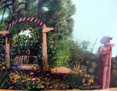 Colorado Flower Garden 2 Art Print by Stephen  Hanson