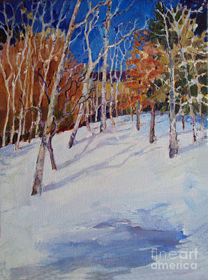 Painting - Colorado Hillside by Diane Ursin