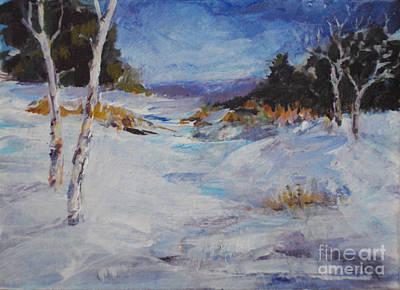Painting - Colorado Landscape by Diane Ursin