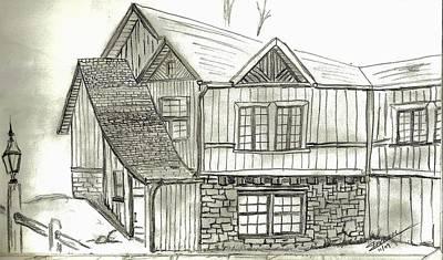 Drawing - Colorado Living by Shannon Harrington