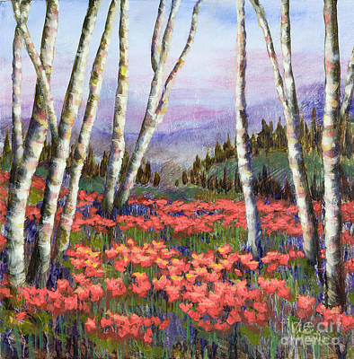 Painting - Colorado Meadow by Vic  Mastis