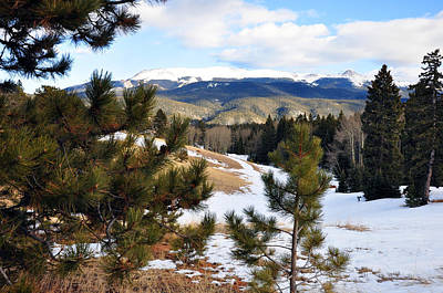 Photograph - Colorado Mountains In Winter by Gene Sherrill