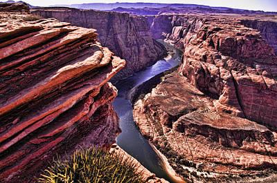 Colorado River At Horseshoe Bend Art Print by Jon Berghoff
