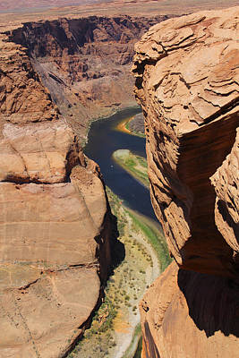 Campers Digital Art - Colorado River At Horseshoe Bend by Mike McGlothlen