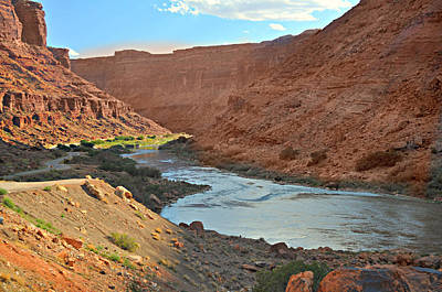 Colorado River Canyon 1 Print by Marty Koch