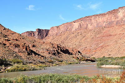 Photograph - Colorado River by Pamela Walrath