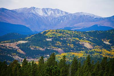 Colorado Rocky Mountain Autumn View Print by James BO  Insogna