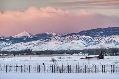 Colorado Rocky Mountain Sunrise Art Print