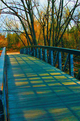 Photograph - Colorado  Walkbridge  2 by William Meemken