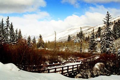 Rocky Digital Art - Colorado Winter Day by Ellen Heaverlo