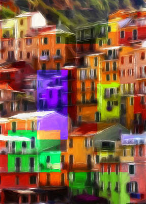 Colored Windows Art Print by Steve K