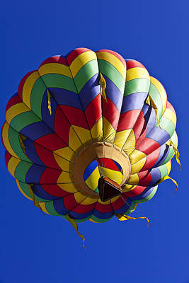 Photograph - Colorful Balloon by Garry Gay
