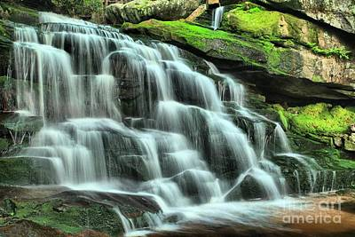Photograph - Colorful Cascade by Adam Jewell