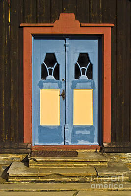 Frame House Photograph - Colorful Entrance by Heiko Koehrer-Wagner