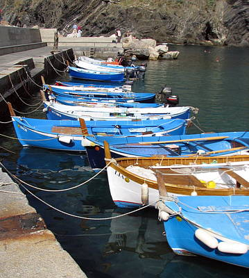 Photograph - Colorful Fishing Boats by Carla Parris