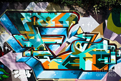 Vandalize Painting - Colorful Graffiti On The Wall by Yurix Sardinelly