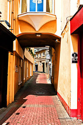 Photograph - Colorful Irish Alley by Edward Peterson