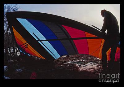 Colorful Kite Art Print