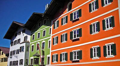 Photograph - Colorful Kitzbuehel - Austria by Juergen Weiss