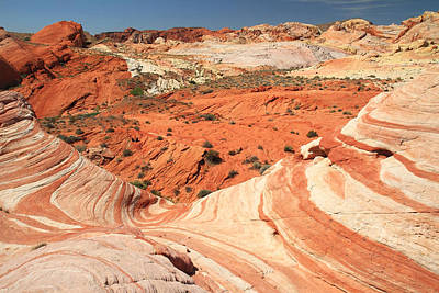 Photograph - colorful landscape at the wave in Valley of Fire by Pierre Leclerc Photography
