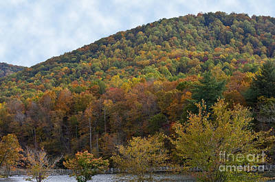 Photograph - Colorful Mountain by Michael Waters