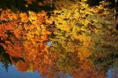 Abstract Photograph - Colorful Reflections by LeeAnn McLaneGoetz McLaneGoetzStudioLLCcom