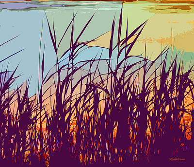Photograph - Colorful Seagrass by Michelle Wiarda