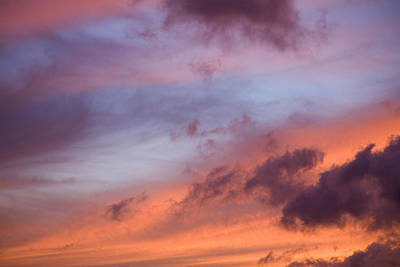 Ashlee Meyer Photograph - Colorful Sky At Sunset  by Ashlee Meyer