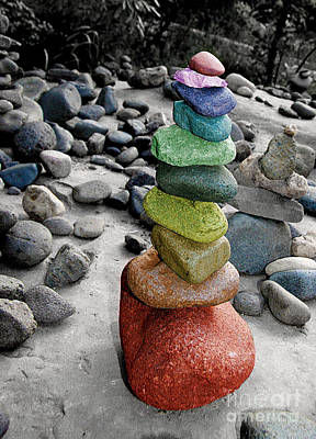 Photograph - Colorful Stack by Afrodita Ellerman