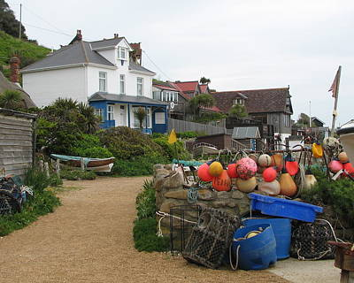 Photograph - Colorful Steephill Cove  by Carla Parris