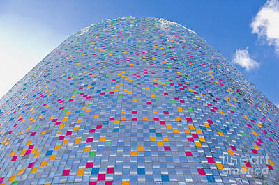 Expo Shanghai Photograph - Colorful Tower by Dave & Les Jacobs
