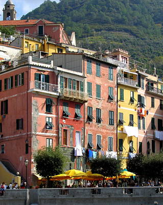 Photograph - Colorful Vernazza by Carla Parris
