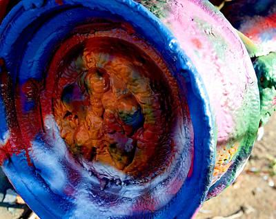 Colorful Wheel Art Print by Malania Hammer