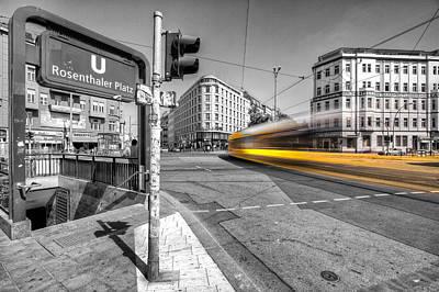 Prenzlauer Berg Photograph - Colorkey Berlin by Marcus Klepper