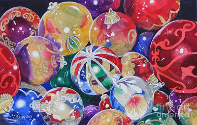 Colors Of Christmas ...sold  Art Print