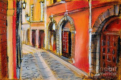Colors Of Lyon 4 Art Print by Mona Edulesco