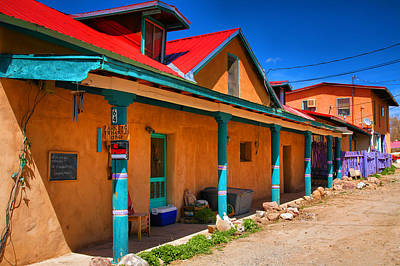 Colors Of New Mexico Art Print by Steven Ainsworth