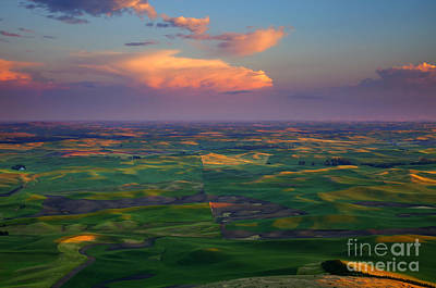 Colors Of The Palouse Original by Mike  Dawson