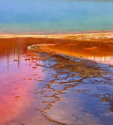 Photograph - Colors Of Yellowstone I by Ellen Heaverlo