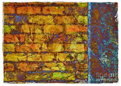 Photograph - Colors On A Wall by Judi Bagwell
