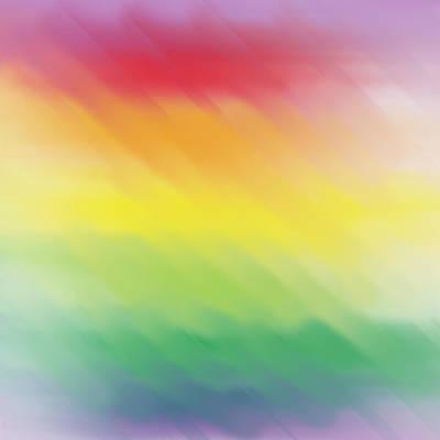 Digital Art - Colorwave by Eric Weeber