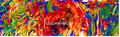 Digital Art - Colorwhirled by Dan Cope