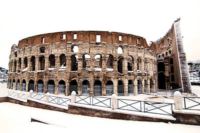 Photograph - Colosseum by Fabrizio Troiani