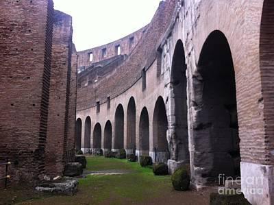 Colosseum Vomitorium Art Print by Richard Chapman