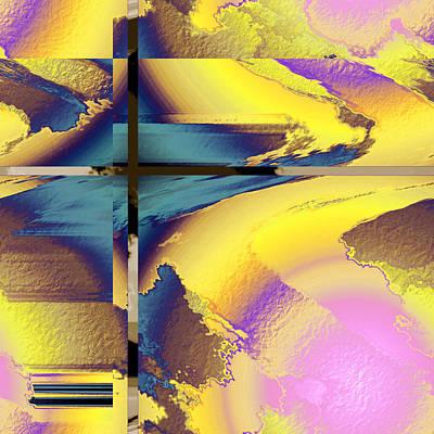 Colour Blitz I Art Print by Yanni Theodorou