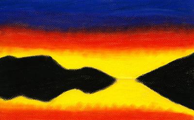 Colours Of Sky 2 Art Print by Hakon Soreide