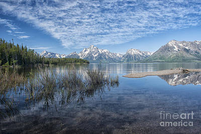 Photograph - Colter Bay Morning - Grand Teton by Sandra Bronstein